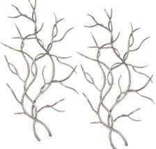 Tree Branch Twig Iron Wall Sculpture Art Decor Modern Global Views Style... - $306.83