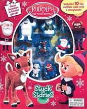 Rudolph Reindeer Stuck on Stories [Board book] Phidal Publishing Inc. - $12.79