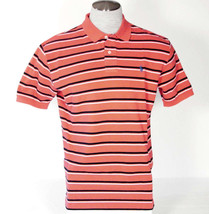 Ralph Lauren Red & Navy Stripe Short Sleeve Polo Shirt Blue Polo Pon... - $56.24