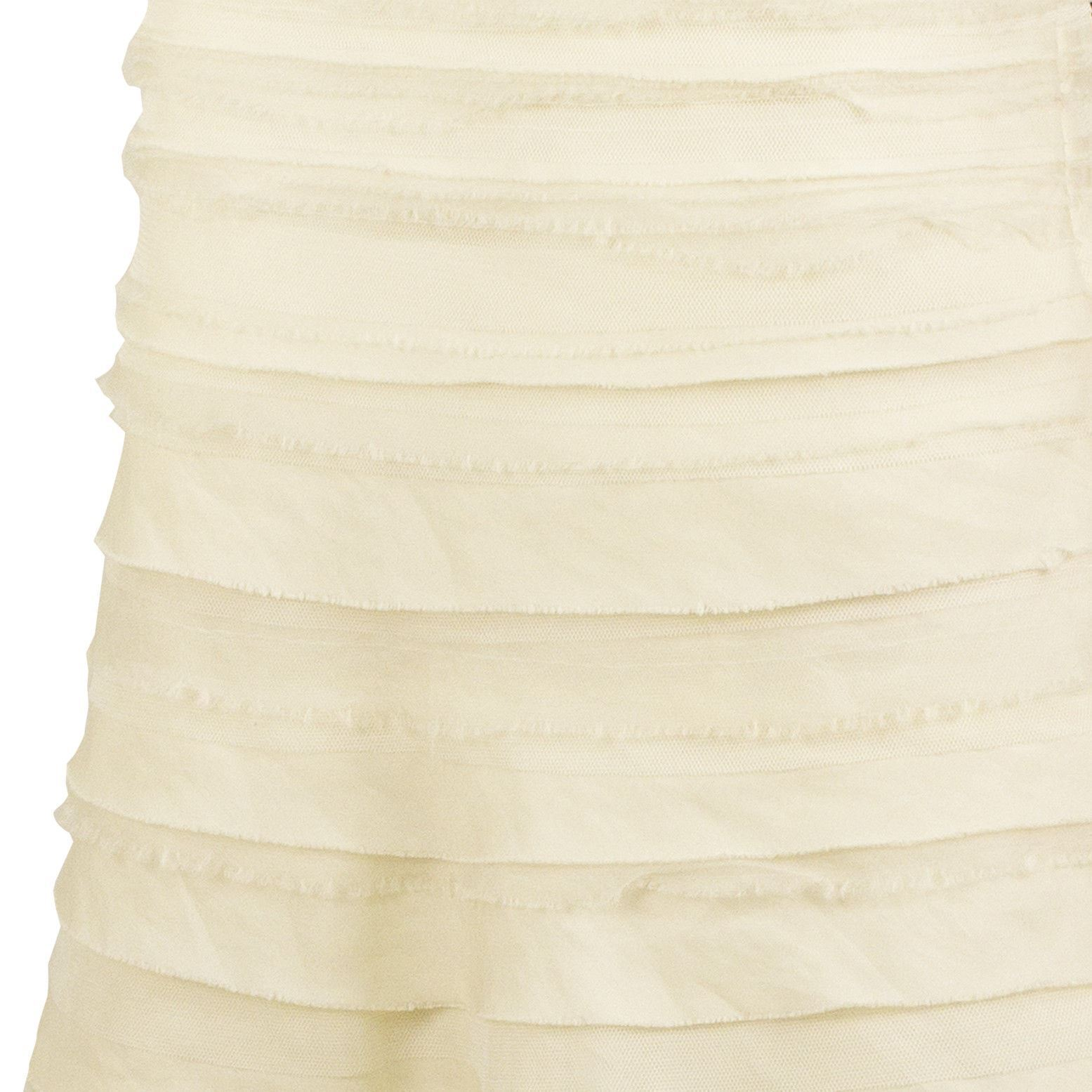 Vera Wang Silk Floor Length Bridal Wedding Gown Dress Strapless US 8 EU 42 image 4