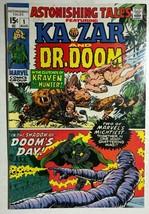 ASTONISHING TALES #1 Ka-Zar Doom (1970) Marvel Comics W Wood J Kirby FINE- - $24.74