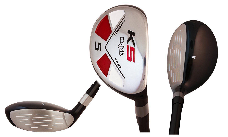 """Senior Men's Majek Golf All Hybrid Full Set (4-SW) Senior """"A"""" Flex Utility Clubs"""
