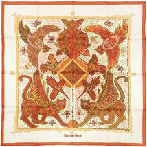Auth Hermes Scarf LEGENDE KUNA PEUPLE DE PANAMA 90cm Silk ZOE PAUWELS - $349.95