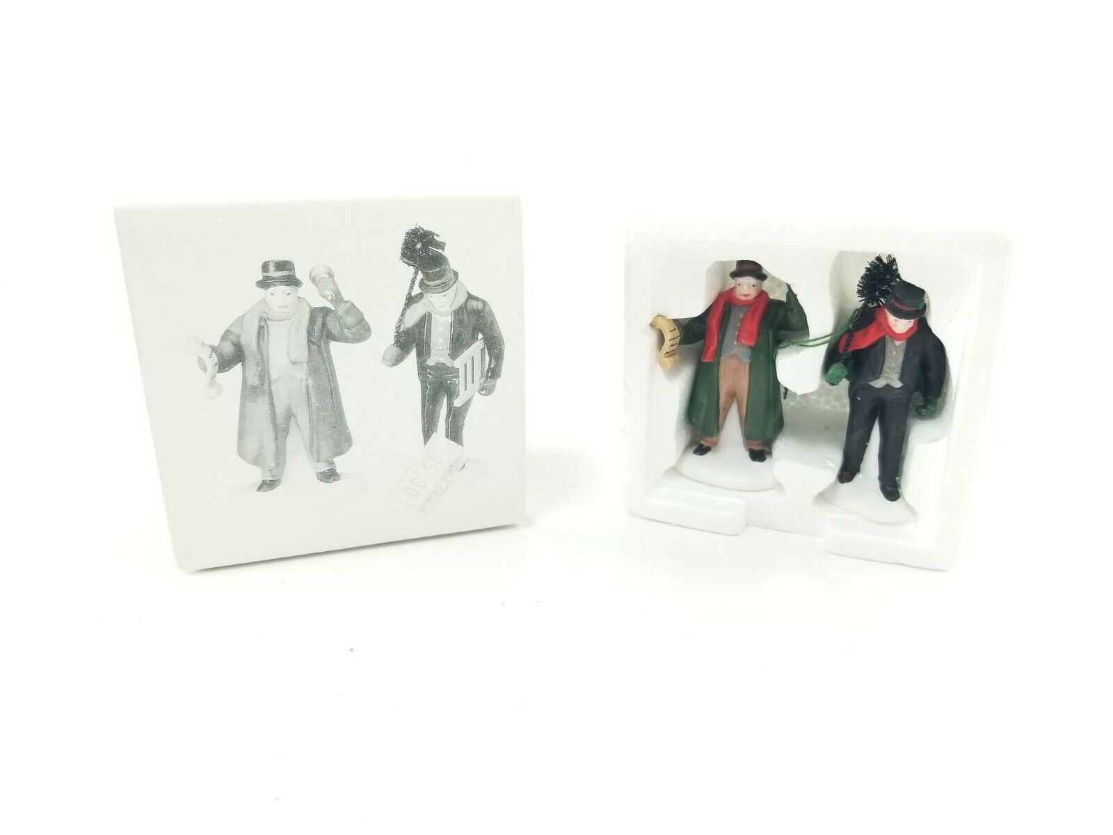 Primary image for Department 56 Dickens Village Accessory Town Crier & Chimney Sweep #55697 in Box