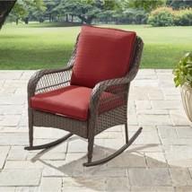 Rocking Chair Rocker Seat Cushion Outdoor Patio Porch Garden Wicker Furn... - $198.88