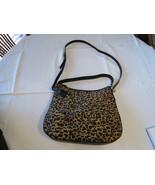 Fossil ZB5477989 Memoir Hobo Cheetah calfhair & leather purse top zip NWT^^ - $188.09