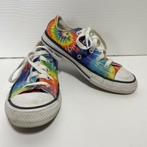 Converse Tie Dye Shoes Youth Size 1 - $17.99