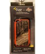 iPhone 4/4S Mossy Oak Infinity Heavy Duty Case  - Silicone Skin & Hard Case - $9.94