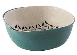 Black Temptation Creative Living Room Fruit-Plate Kitchen Vegetable Plate Drain  - $27.38