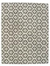 Hand Tufted Diamond Basic Gray 4' x 6' Contemporary Woolen Area Rug Carpet - $299.00