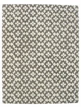 Hand Tufted Diamond Basic Gray 8' x 10' Contemporary Woolen Area Rug Carpet - $599.00