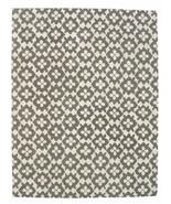 Hand Tufted Diamond Basic Gray 9' x 12' Contemporary Woolen Area Rug Carpet - $799.00