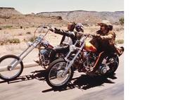 Easy Rider BR Nicholson Hopper Road Vintage 11X14 Color Movie Memorabilia Photo - $12.95