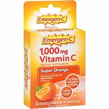 Emergen-C (3 Count, Super Orange Flavor) Dietary Supplement Fizzy Drink ... - $2.51