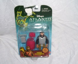 Disney ATLANTIS The Lost Empire VINNY SANTORINI Figure NEW! - $11.96