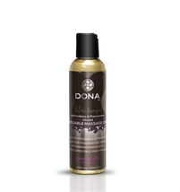System JO Dona Kissable Massage Oil - Chocolate Mousse - 4.25 Oz.  - $14.95
