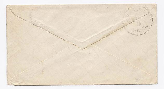 1881 Billerica MA Vintage Post Office Postal Cover