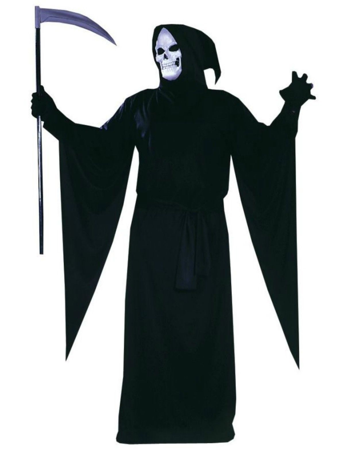 Plus Size Adult Grim Reaper Halloween Costume