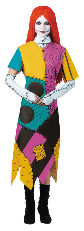 Primary image for THE NIGHTMARE BEFORE CHRISTMAS SALLY ADULT HALLOWEEN COSTUME