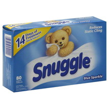 Snuggle Dryer Sheets Blue Sparkle Scent Fabric ... - $11.87