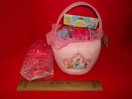 Disney Princess Easter Basket Kit Princesses Treat Containers Grass Plus... - $18.99