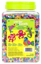 Perler Beads Bulk Assorted Multicolor Fuse Beads for Kids Crafts, 22000 pcs - $27.89