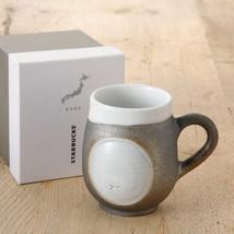 Starbucks Jimoto Made Shigaraki Black Mug Cup New From Japan Free Shipping - $105.83
