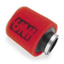 UNI Angled 2 Stage Clamp On Pod Air Filter Cleaner 1 25mm ID 3 76mm HGT - $19.95