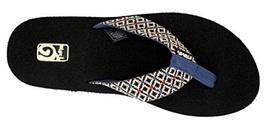 Women's Teva Mush Flip Flops Rombo Black Sz 7 - $24.00