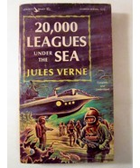 20,000 Leagues Under the Sea by Jules Verne 1963 Airmont Classic - $3.00