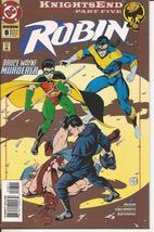 DC Robin #8 Knightsend Nightwing Tim Drake Batman Bruce Wayne Gotham City - $1.95