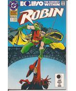 DC Robin Annual #1 Eclipso The Darkness Within Tim Drake Batman B Wayne ... - $3.50
