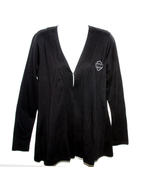 Harley-Davidson Black Open Cardigan Womens Long... - $48.00