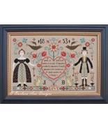 Love Never Fails cross stitch chart Barbara Ana Designs - $13.50