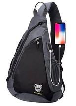 Polar Panda Sling Backpack Crossbody Bag for Women & Men Travel Shoulder... - $21.55