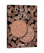 Lincoln Cents Coin Folder Album #4, 2014 by H.E. Harris - $8.49