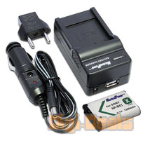 Charger + Camera Battery for SONY NP-BX1 NPBX1 CyberShot DSC-RX100 Wall+... - $13.75