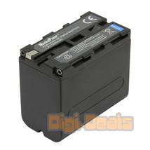 Camera Battery For SONY NP-F950 NP-F970 F330 F530 F550 F570 F750 7200mAh - $121.66