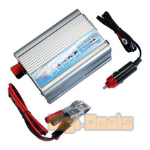 Car Power Inverter 12V DC to 110V/300W AC Socket Adapter with USB - $29.59