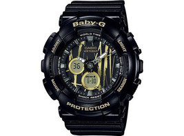 Casio G-Shock Men's Baby-G Ana-Digital Black Resin Quartz Watch - BA120S... - £76.51 GBP