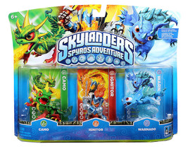 NIB Skylanders Spyro Adventure Pack CAMO IGNITOR WARNADO Skylander RARE ... - $49.99