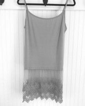 Lace Cami 3XL Tank Shirt Extenders, Womens Lace... - $19.80