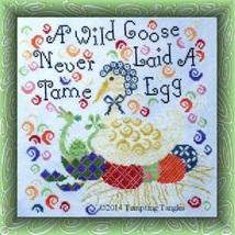 Wild Goose cross stitch chart Tempting Tangles - $9.00