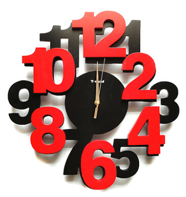 Primary image for Wall Clocks Modern Design Decorative Clock Kitchen Contemporary Office New cl23