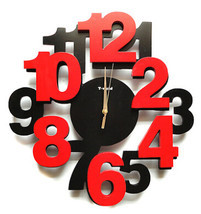 Wall Clocks Modern Design Decorative Clock Kitchen Contemporary Office N... - £52.75 GBP
