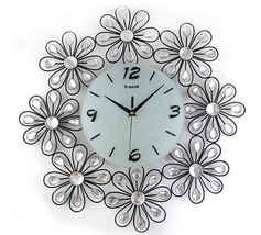 Wall Clocks Modern Design Decorative Clock Kitchen Contemporary Office N... - €85,17 EUR