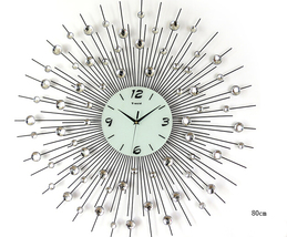 Wall Clocks Modern Design Decorative Clock Kitchen Contemporary Office N... - $98.00