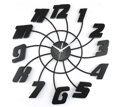 Wall Clocks Modern Design Decorative Clock Kitchen Contemporary Office N... - $78.00