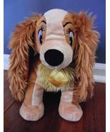 "Disney Authentic Lady & the Tramp Plush Animal 12"" Dog - $24.45"