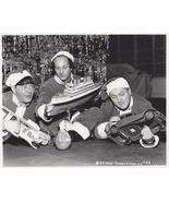 3 Stooges Christmas Moe Larry Curly Vintage 11X14 Comedy TV Memorabilia Photo - $13.95